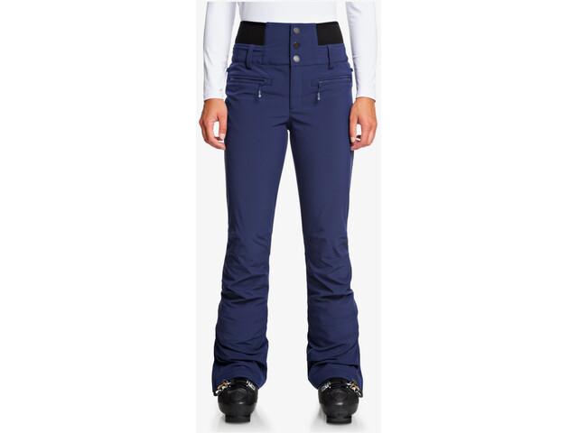 Roxy Rising High Pantalones Mujer, medieval blue